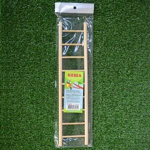 Жердочка в клетку деревянная 9 ступеней PL1008-9