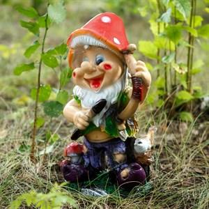 Фигура Гном с луком - фото 62713