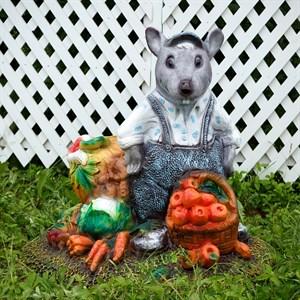 Крышка люка Крыс с овощами