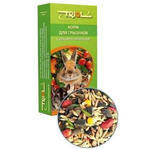 Корм ТРИОЛ для грызунов 500г (овощи/шиповник)