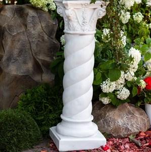 Скульптура Колонна белая матовая F03011WM