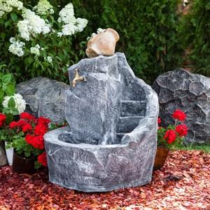 Умывальник фонтан с краном