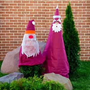 Укрывной колпак Дед Мороз Н150 см - фото 65593