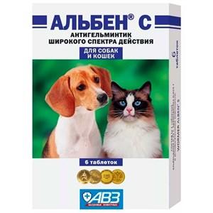 Антигельминтик АЛЬБЕН С 6т