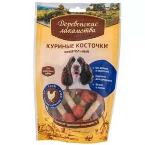 Деревенские лакомства для собак  Куриные на косточке жевательные  79711175