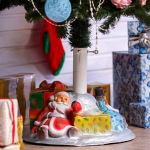 Подставка под елку Дед Мороз и снеговик U07802