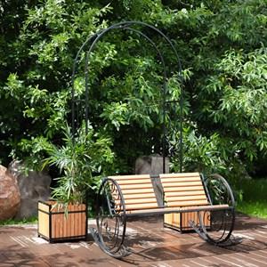 Кресло качалка с деревом 881-40R