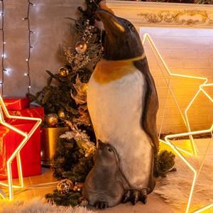 Фигура Пингвин с пингвиненком U08705