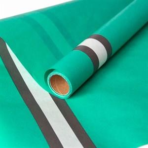 Фетр Ламинированный 60см х 5м Горизонталь зеленый