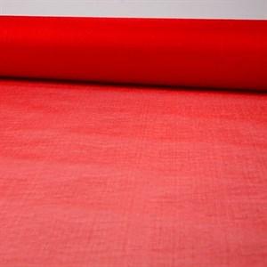 Органза снег 70см красный