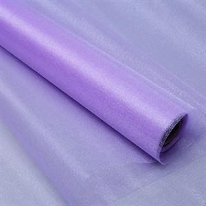 Органза снег 70см светло-фиолетовый