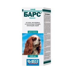 Спрей БАРС от блох для собак