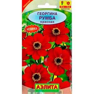 Георгина Румба красная