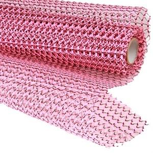 Сетка 50см*5ярд Бриз двухцветная розовая