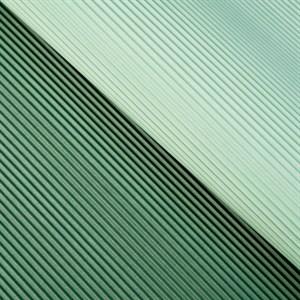 Бумага гофрированная в листах 50см х 66см серо-зеленый/темно-зеленый