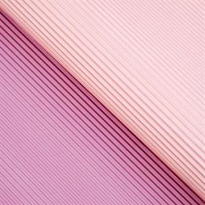 Бумага гофрированная в листах 50см х 66см сиреневый/розовый