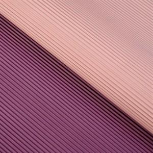 Бумага гофрированная в листах 50см х 66см фиолетовый/светло-розовый