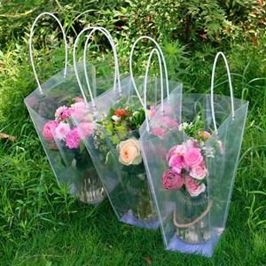 Пакет пластик  для цветов 20*17*10