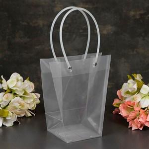 Пакет пластик  для цветов 26*24*12