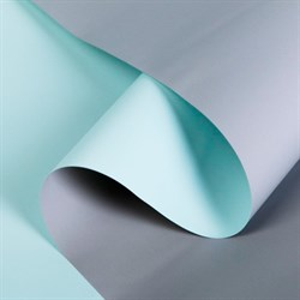 Пленка матовая 60*10м серый/бледно-голубой