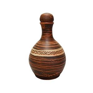 Бутылка гончарная 0,7л Ангоб Триполье
