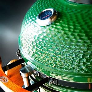 Керамический гриль яйцо 22 дюйма (57см) с окошком - фото 73040