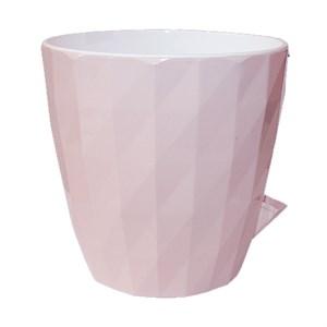 Кашпо Соло Руби 3л бежево-розовый