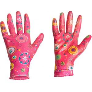 Перчатки Листок нейлон с нитр.покр M - фото 73854
