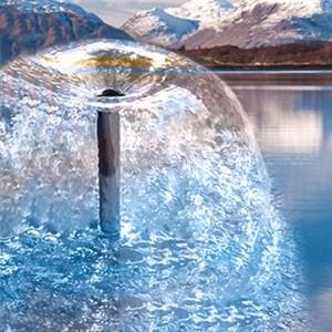 Насос Листок фонтанный 2000л