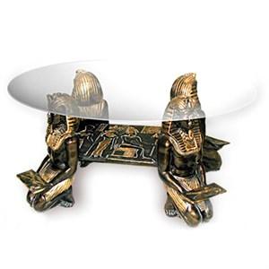 Стол Фараоны со стеклом F05013