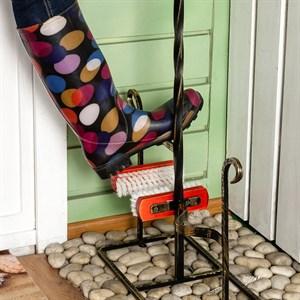 Декроттуар металлический для садовой обуви 62-004