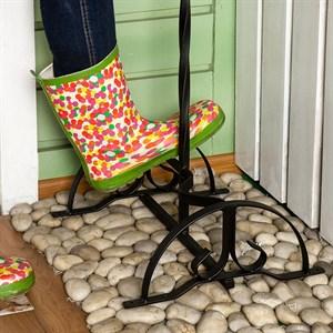 Декроттуар для обуви садовой кованый 62-005
