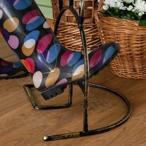 Декроттуар для садовой обуви кованый 62-011