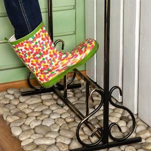 Декроттуар металл для садовой обуви 62-014