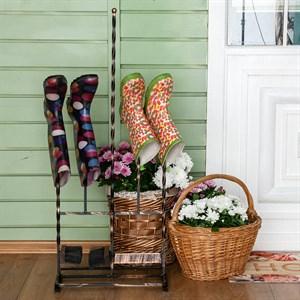 Декроттуар садовый с сушилкой для обуви кованый 62-015 - фото 75121