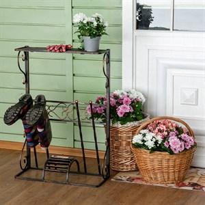 Декроттуар кованый для садовой обуви 62-018