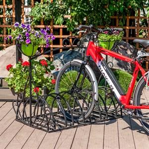 Стоянка для велосипедов кованая 71-202