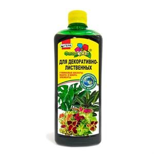 Удобрение ФлорГумат для декоративно-лиственных 0,5л