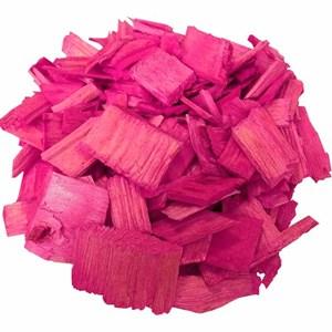 Декоративная щепа 60л розовая