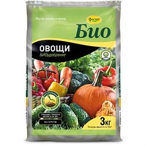 Удобрение БИО Овощи 3кг гранулы