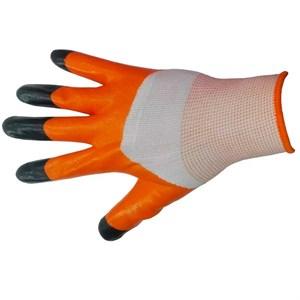 Перчатки нейлоновые Ноготки с нитрил.покрыт.