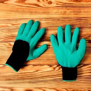 Перчатки нейлоновые Люкс с покрытием из вспененного латекса