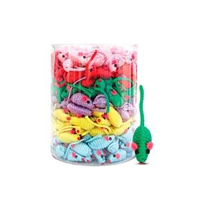 Игрушка Мышь разноцветная 5см NT1169-A