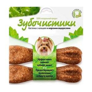 Лакомство ЗУБОЧИСТИКИ  для собак 2*18г водоросли 73303761