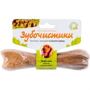 Лакомство ЗУБОЧИСТИКИ  для собак 95г кура 73303815