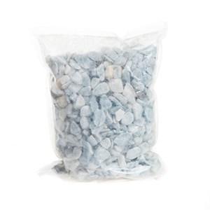 Грунт аквариумный Голубой окатанный 5-10 3кг