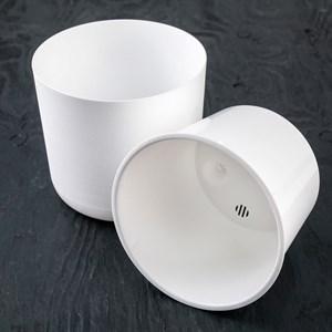 Горшок Лион 3л белый-белый с вкладышем