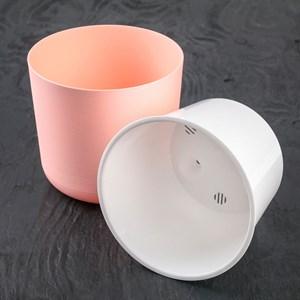 Горшок Лион 3л розово-белый с вкладышем
