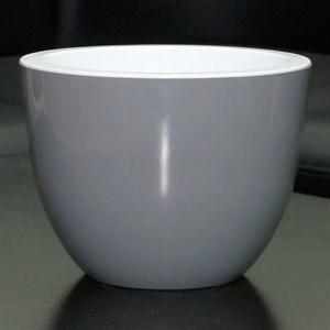 Горшок Орион 2,3л серый муссон с вкладышем