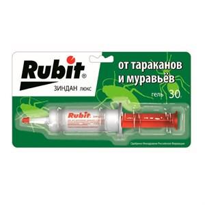Рубит Зиндан гель Люкс от муравьев и тараканов 30г
